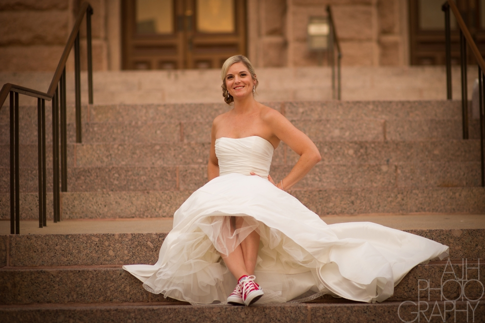 Texas Capitol Bridal Photos - AJH Photography