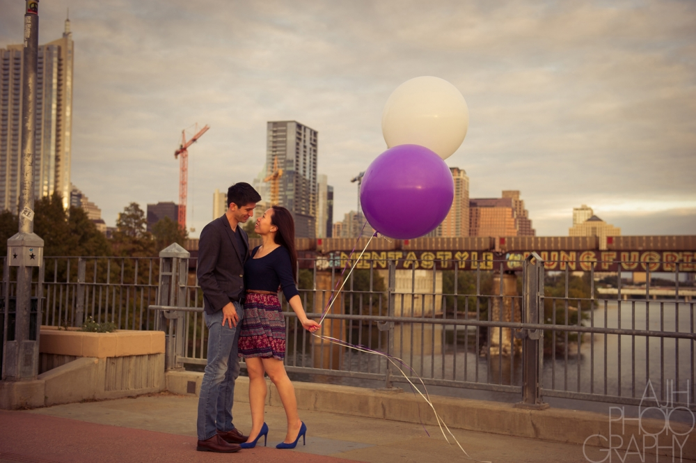 Coffee Shop Engagement Photography - AJH Photography