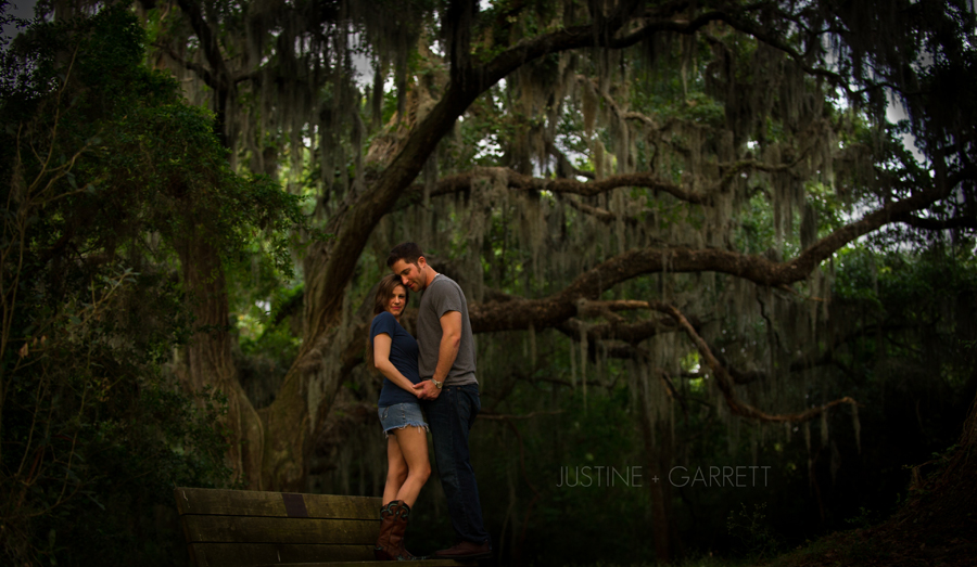 Brazos Bend State Park Engagement - AJH Photography