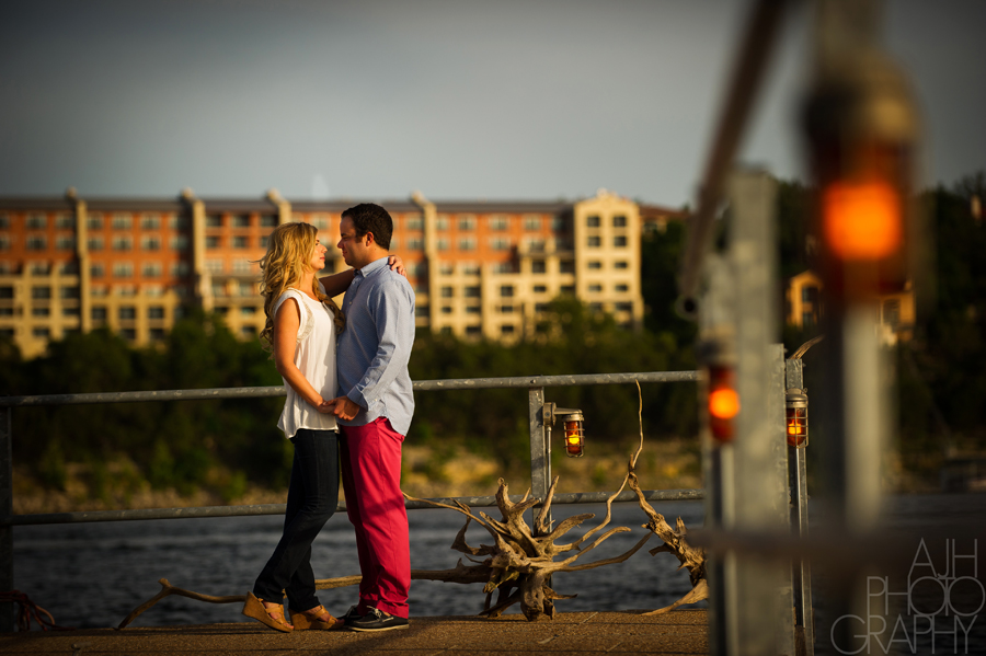 Lake Travis Engagement - AJH Photography