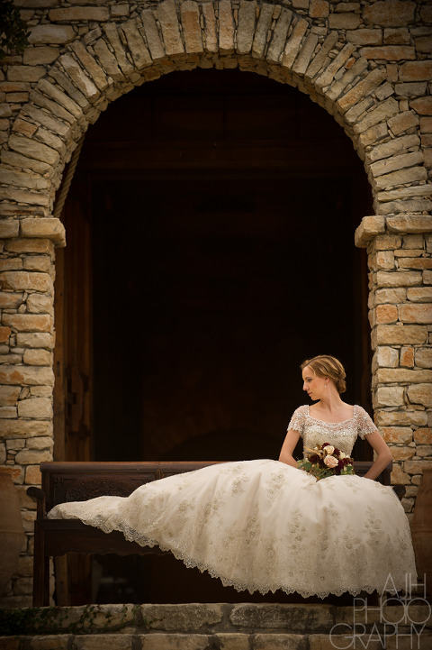 Camp Lucy bridals - AJH Photography